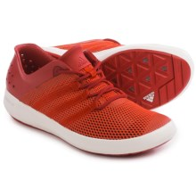 adidas outdoor ClimaCool® Boat Pure Water Shoes (For Men) in Bold Orange/Power Red/Chalk White - Closeouts