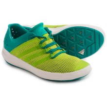 adidas outdoor ClimaCool® Boat Pure Water Shoes (For Men) in Semi Solar Slime/Eqt Green/Chalk White - Closeouts
