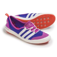 adidas outdoor Climacool Boat Sleek Water Shoes (For Women) in Night Flash/Chalk White/Flash Pink - Closeouts