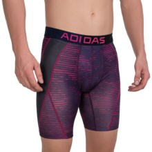 adidas outdoor ClimaCool® Graphic Midway Boxer Briefs (For Men) in Urban Sky/Black/Bold Pink - Closeouts