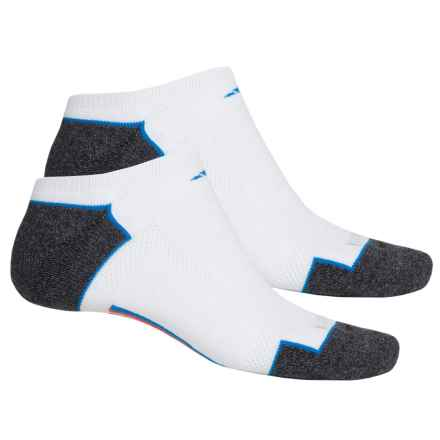 adidas outdoor ClimaCool® II No-Show Socks - 2-Pack, Below the Ankle (For Men) in White/Shock Blue/Bold Orange/Black-Onix Marl - Closeouts