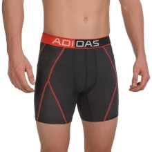 adidas outdoor ClimaCool® Mesh Boxer Briefs (For Men) in Black/Bright Red - Closeouts