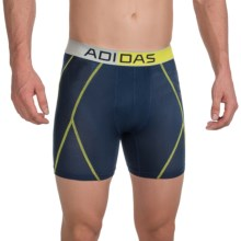 adidas outdoor ClimaCool® Mesh Boxer Briefs (For Men) in Collegiate Navy/Semi Solar Yellow - Closeouts