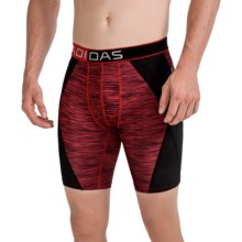 adidas outdoor ClimaCool® Midway Boxer Briefs (For Men) in Red Space Dye - Closeouts