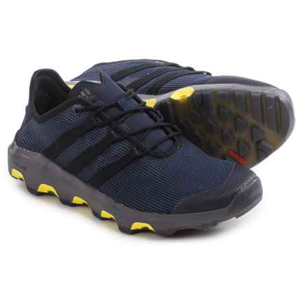 adidas outdoor ClimaCool® Voyager Water Shoes (For Men) in Collegiate Navy/Black/Shock Yellow - Closeouts