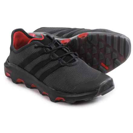 adidas outdoor ClimaCool® Voyager Water Shoes (For Men) in Shadow Black/Black/Power Red - Closeouts