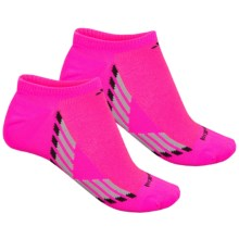 adidas outdoor ClimaCool® X III No-Show Socks - Below the Ankle, 2-Pack (For Women) in Shock Pink/Black/Light Onix/Onix - Closeouts