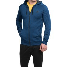adidas outdoor ClimaWarm® Ultimate Hoodie - Full Zip (For Men) in Blue/Black - Closeouts