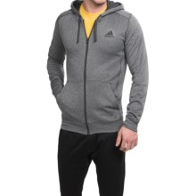 adidas outdoor ClimaWarm® Ultimate Hoodie - Full Zip (For Men) in Dgh Solid Grey/Black - Closeouts