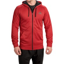 adidas outdoor ClimaWarm® Ultimate Hoodie - Full Zip (For Men) in Scarlet/Black - Closeouts
