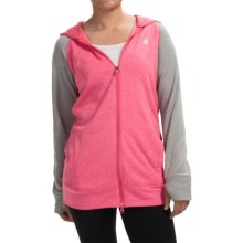 adidas outdoor ClimaWarm® Ultimate Hoodie - Full Zip (For Women) in Super Pink - Closeouts