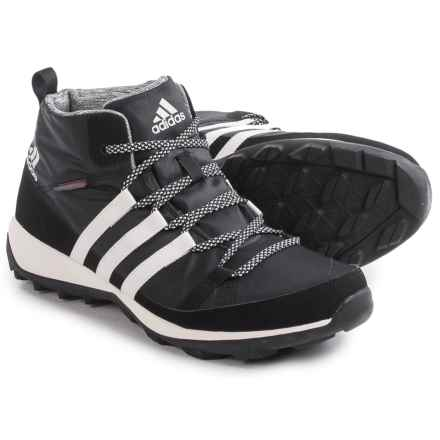 adidas outdoor CW Daroga Chukka Snow Boots - Insulated (For Men) in Black/Chalk White/Black - Closeouts