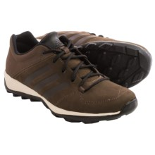 adidas outdoor Daroga Plus Leather Shoes - Lace-Ups (For Men) in Brown/Black/Simple Brown - Closeouts