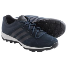 adidas outdoor Daroga Plus Leather Shoes - Lace-Ups (For Men) in Collegiate Navy/Black/ Solid Grey - Closeouts