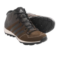 adidas outdoor Daroga Plus Mid Leather Lace Shoes (For Men) in Brown/Black/Simple Brown - Closeouts