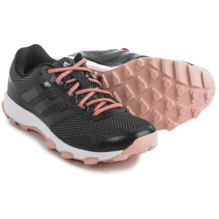 adidas outdoor Duramo 7 Trail Running Shoes (For Women) in Utility Black/Black/Vapour Pink - Closeouts
