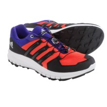 adidas outdoor Duramo Cross Trail Running Shoes (For Men) in Solar Red/Black/Night Flash - Closeouts