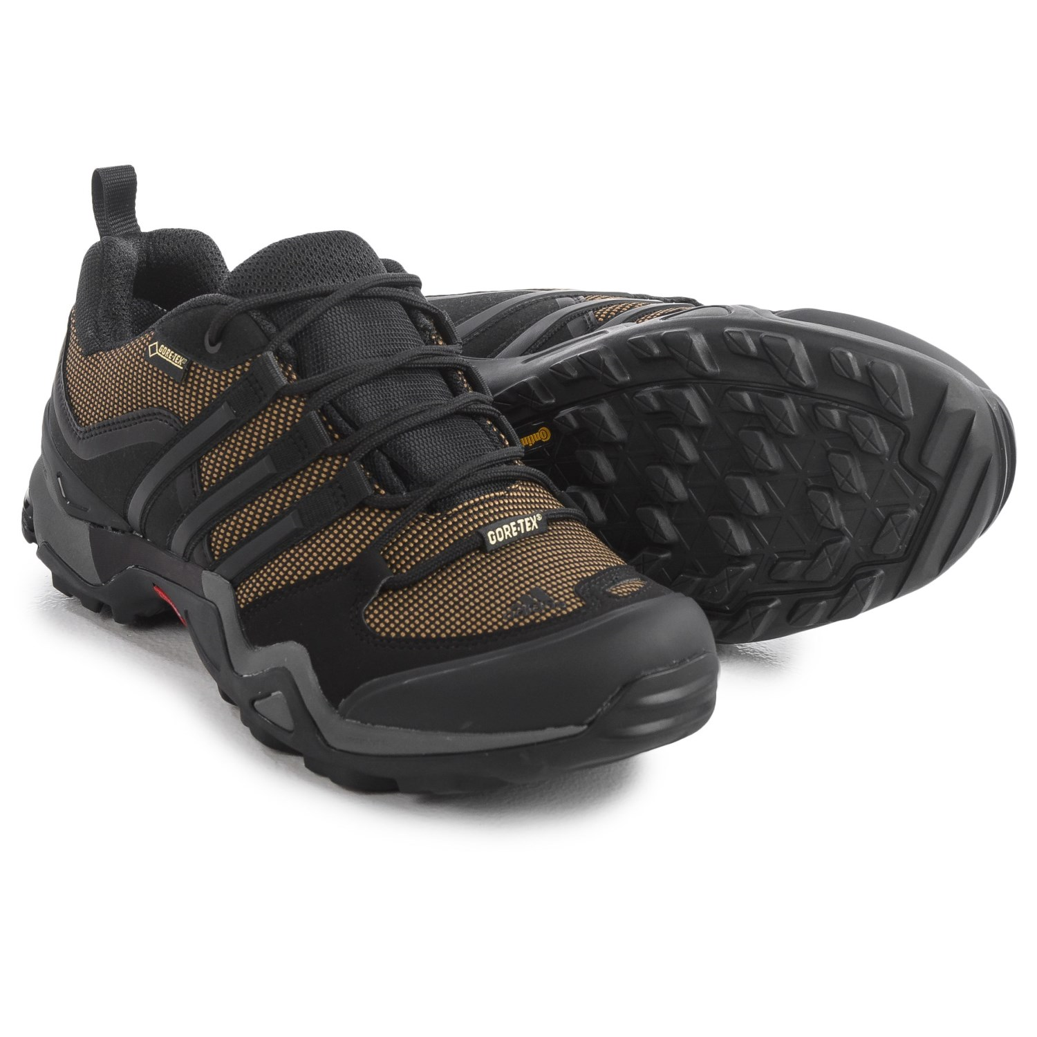 adidas outdoor fast x gore tex hiking shoes for men save 54. Black Bedroom Furniture Sets. Home Design Ideas