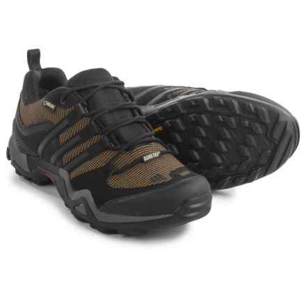 adidas outdoor Fast X Gore-Tex® Hiking Shoes - Waterproof (For Men) in Earth/Black/Vista Grey - Closeouts