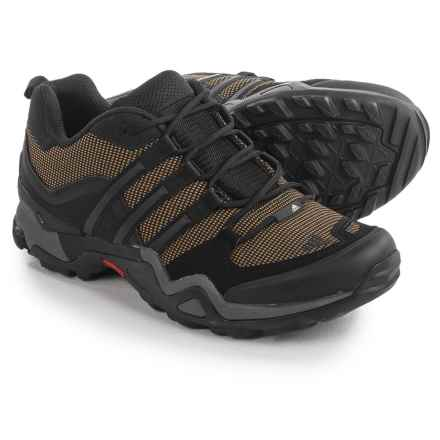 adidas outdoor Fast X Hiking Shoes (For Men) in Earth/Black/Vista Grey - Closeouts