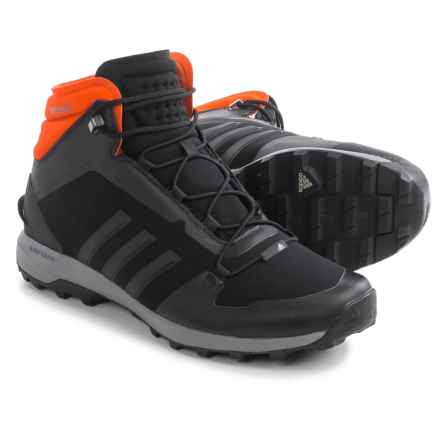 adidas outdoor Fastshell Mid CH Boots - Insulated (For Men) in Black/Vista Grey/Dark Grey - Closeouts