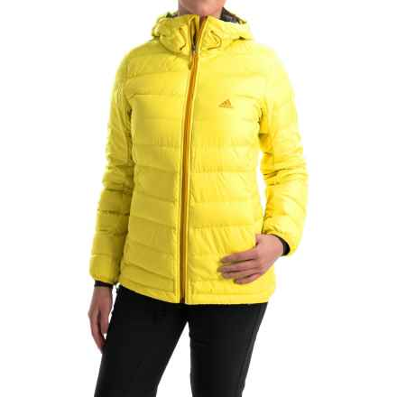 adidas outdoor Frost ClimaHeat® Down Jacket - 700 Fill Power (For Women) in Bright Yellow - Closeouts