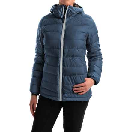 adidas outdoor Frost ClimaHeat® Down Jacket - 700 Fill Power (For Women) in Mineral Blue/Utility Black - Closeouts