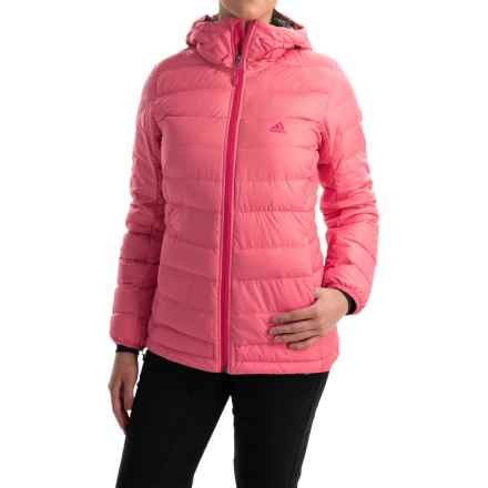 adidas outdoor Frost ClimaHeat® Down Jacket - 700 Fill Power (For Women) in Super Pink - Closeouts