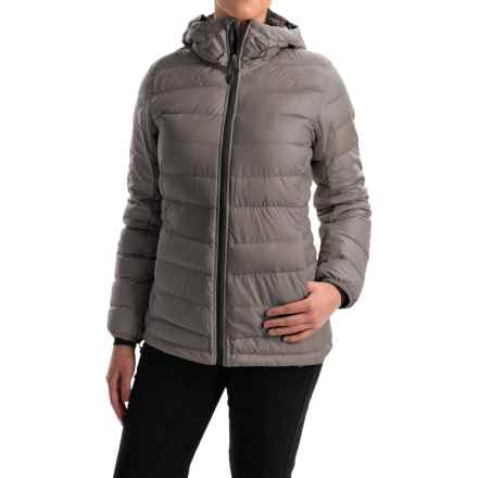 adidas outdoor Frost ClimaHeat® Down Jacket - 700 Fill Power (For Women) in Tech Earth/Utility Black - Closeouts