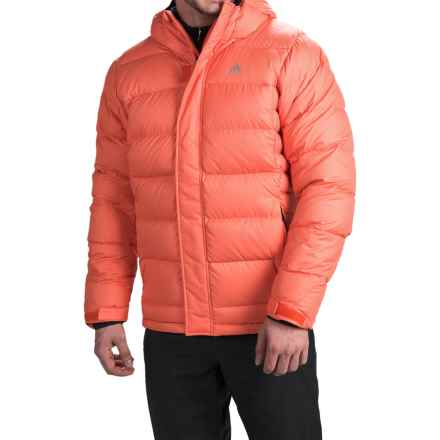 adidas outdoor Frostheld ClimaHeat® Down Jacket - 700 Fill Power (For Men) in Bold Orange/Bold Orange - Closeouts