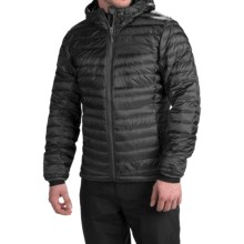 adidas outdoor Frostlight ClimaHeat® Hooded Down Jacket - 700 Fill Power (For Men) in Black - Closeouts