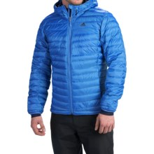 adidas outdoor Frostlight ClimaHeat® Hooded Down Jacket - 700 Fill Power (For Men) in Blue Beauty - Closeouts