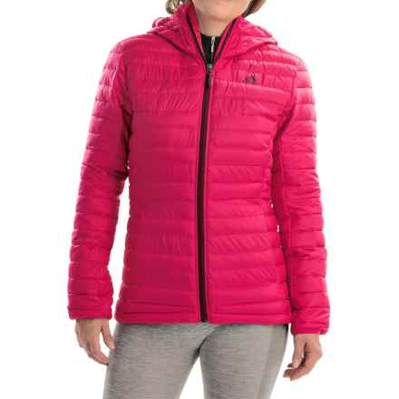 adidas outdoor Frostlight Down Jacket - 700 Fill Power, ClimaHeat® (For Women) in Vivid Berry - Closeouts