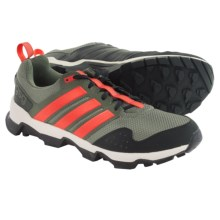 adidas outdoor GSG9 Trail Running Shoes (For Men) in Base Green/Solar Red/Chalk White - Closeouts
