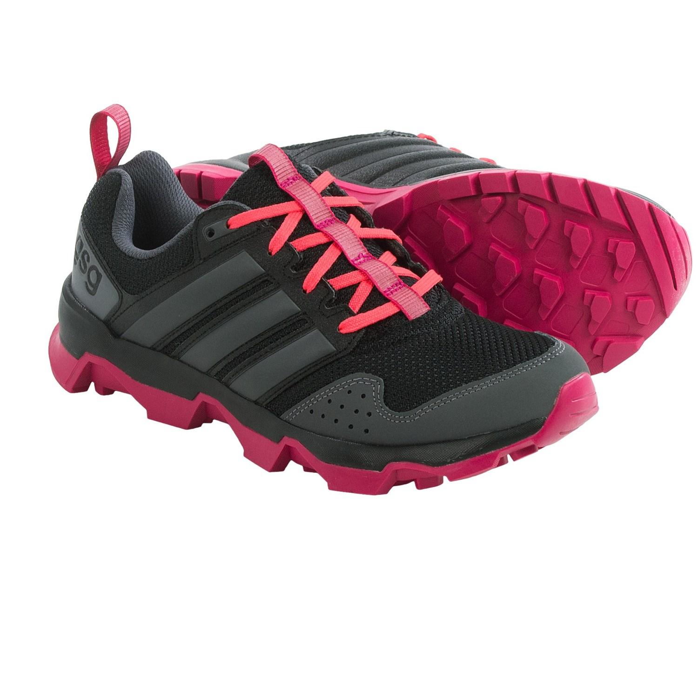 san francisco b8cac 9cecb ... adidas outdoor gsg9 trail running shoes for women in black night  metallic bold