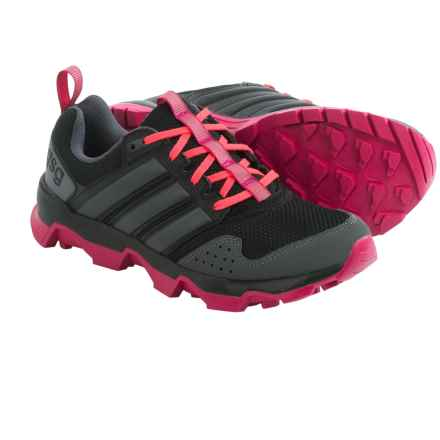 adidas outdoor GSG9 Trail Running Shoes (For Women) in Black/Night Metallic/Bold Pink - Closeouts