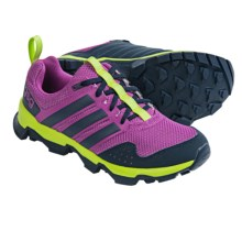 adidas outdoor GSG9 Trail Running Shoes (For Women) in Lucky Pink/Semi Solar Yellow/Collegiate Navy - Closeouts