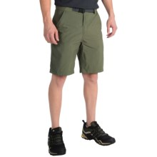 adidas outdoor Hiking Allround Shorts - UPF 50+ (For Men) in Base Green - Closeouts