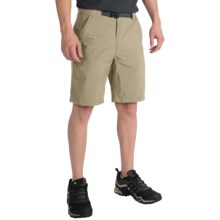 adidas outdoor Hiking Allround Shorts - UPF 50+ (For Men) in Tech Beige - Closeouts