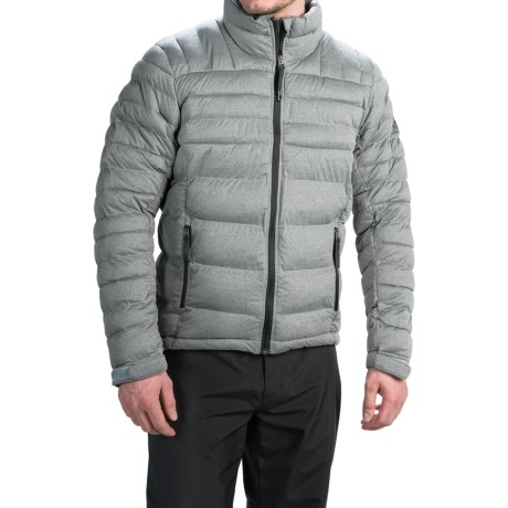 adidas outdoor Hiking Comfort 2 Jacket - Insulated (For Men) in Tech Grey