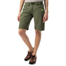 adidas outdoor Hiking Flex Shorts - UPF 50+ (For Women) in Base Green - Closeouts