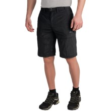 adidas outdoor Hiking Shorts - UPF 50+ (For Men) in Black - Closeouts