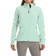 adidas outdoor Hiking Soft Shell Jacket (For Women) in Frozen Green - Closeouts
