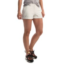 adidas outdoor Hiking Stretch Shorts - UPF 50+ (For Women) in Pearl Grey - Closeouts