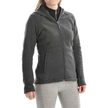 adidas outdoor Hochmoos Fleece Hoodie (For Women) in Dark Grey - Closeouts