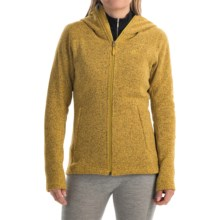 adidas outdoor Hochmoos Fleece Hoodie (For Women) in Raw Ochre - Closeouts