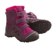 adidas outdoor Holtanna Gore-Tex® PrimaLoft® Snow Boots - Waterproof, Insulated (For Toddlers) in Tribe Berry/Black/Rich Red - Closeouts