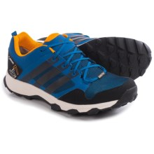 adidas outdoor Kanadia 7 Gore-Tex® Trail Running Shoes - Waterproof (For Men) in Eqt Blue/Black/Chalk White - Closeouts