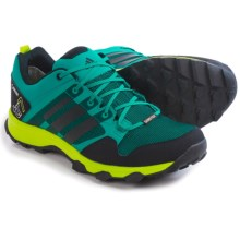 adidas outdoor Kanadia 7 Gore-Tex® Trail Running Shoes - Waterproof (For Men) in Eqt Green/Black/Semi Solar Slime - Closeouts