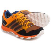 adidas outdoor Kanadia 7 Gore-Tex® Trail Running Shoes - Waterproof (For Men) in Eqt Orange/Black/Chalk White - Closeouts